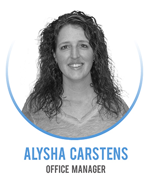 Alysha Carstens - Office Manager