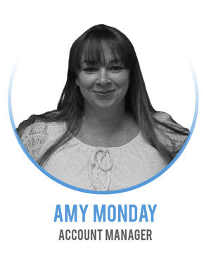 Amy Monday - Account Manager