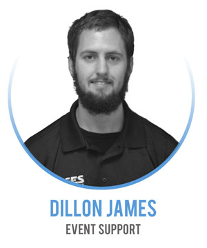 Dillon James - Event Support