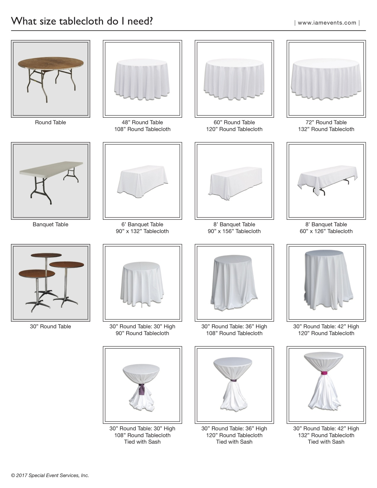 Excellent Tablecloths What Size Tablecloth Do I Need Special Event Home Interior And Landscaping Palasignezvosmurscom