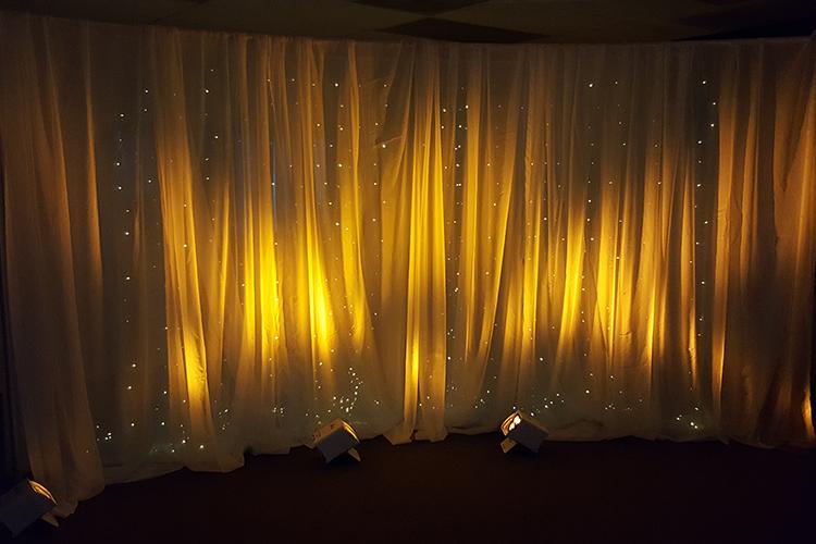 Pipe Amp Drape Pipe Amp Drape Backdrop W Light Curtain 12
