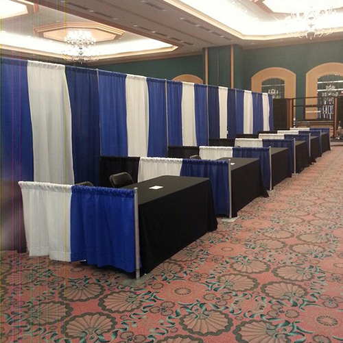 Pipe Amp Drape Convention Booth 8 X 10