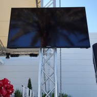 55 Inch Video Monitor with Truss Mount