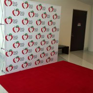 10' x 10' Red Carpet