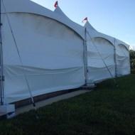 Tent Wall: Solid 20'